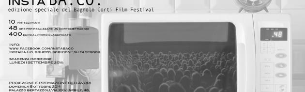 locandina InstaBa.Co. Bagnolo Corti Film festival
